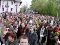 Mii de crestini, catolici sau ortodocsi, au participat la slujbele din toata tara in duminica Floriilor