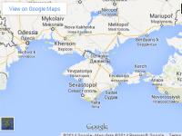 Ce se intampla daca accesezi Google Maps din Rusia, pentru a explora peninsula Crimeea
