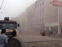 Explozie in Viena. Un mort si 13 raniti in urma prabusirii unui imobil. VIDEO