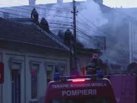 Incendiu violent intr-un restaurant din Cluj-Napoca. Un tanar de 27 de ani a suferit arsuri in zona fetei