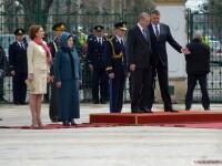 Imagini de la intalnirea lui Klaus Iohannis cu presedintele turc Recep Tayyip Erdogan. GALERIE FOTO