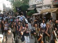 Teroristii Statului Islamic au preluat controlul unei tabere de refugiati de langa Damasc. 18.000 de oameni sunt in pericol