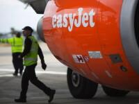 Un avion EasyJet a aterizat de urgenta la Roma, dupa ce un pasager a lovit o stewardesa din cauza unui sandvis
