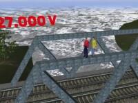 Neglijenta CFR in cazul tinerilor electrocutati pe un pod, in Capitala. Cum putea fi evitat accidentul din Parcul Herastrau