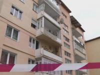 Explozie intr-un bloc din Sibiu. 30 de oameni au fost evacuati si un balcon aproape s-a prabusit