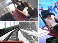 iLikeIT. Corina Caragea testeaza un rollercoaster virtual. Prin ce emotii a trecut vedeta
