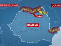 Reguli mai relaxate pentru ucrainenii care locuiesc in apropierea granitei cu Romania. Vor putea intra la noi fara viza
