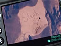 Mesajul vizibil din spatiu care a strans peste 3,6 milioane de vizualizari. Ce i-a scris o fetita tatalui sau astronaut