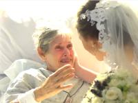 Au fugit de la propria lor nunta pentru a face o surpriza. Invitatii au izbucnit in lacrimi cand au vazut ce se intampla