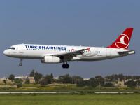 O noua alerta cu bomba intr-un avion al companiei Turkish Airlines. Aeronava s-a intors pe aeroportul din Istanbul