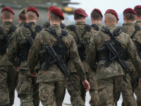 Aproximativ 300 de militari americani au sosit in Ucraina pentru instruirea soldatilor ucraineni. Reactia Kremlinului