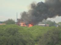 Explozie soldata cu cel putin 11 raniti in SUA. O echipa de detinuti care lucra la un drum a lovit o conducta de gaz