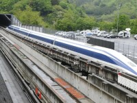 Nou record mondial de viteza pentru un tren maglev in Japonia: 603 km/h. Cat ii costa pe japonezi linia Tokyo-Nagoya