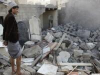 FOTOGALERIE Bilantul distrugerilor din Yemen: aeroporturi, case private, stadioane, infrastructura, scoli si universitati