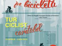 """Principele Nicolae al Romaniei si turul ciclist """"Cartile Copilariei pe bicicleta"""" ajung in Cluj-Napoca"""