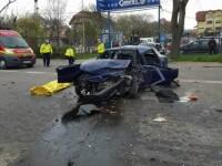 FOTO Teribil accident pe drumul de centura al Galatiului. Un tanar de 26 de ani si-a pierdut viata