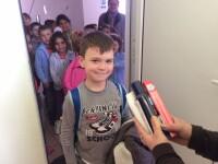 Peste 350 de elevi din zonele rurale din Cluj, implicati intr-un proiect de igiena personala