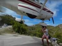 A vrut sa fotografieze de aproape momentul in care un avion aterizeaza pe o pista periculoasa. Urmarea a fost filmata: VIDEO