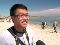 Primele zile de distractie pe litoralul romanesc. Reactia unui turist din Thailanda, care a ajuns in Vama Veche