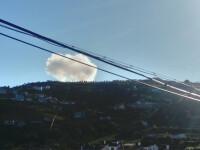 Explozie uriasa la o fabrica de artificii din Portugalia. Sapte oameni ar fi murit in urma deflagratiei