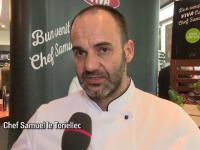 (P) Chef Samuel le Torriellec a pregatit trei noi sandwich-uri pentru clientii benzinariilor OMV. Ce vor contine acestea