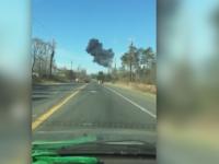 Un avion de vanatoare F 16 s-a prabusit in Statele Unite. Pilotul a reusit sa se catapulteze