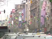 Mai multe orase din Romania s-au umplut de iepurasi si decoratiuni de Paste.