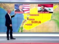 Catalin Radu Tanase, corespondentul Stirilor ProTV: SUA au acum doua variante, dupa ce au bombardat Siria