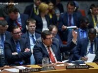 SUA au atacat Siria cu rachete. Discutii aprinse la Consiliul de Securitate al ONU: Rusia a avertizat asupra consecintelor