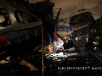 Accident feroviar grav, la marginea Moscovei. 50 de oameni au fost raniti dupa o coliziune intre 2 trenuri