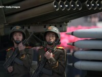 Parada militara de amploare in Coreea de Nord. SUA, amenintate cu un atac nuclear: