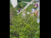 Un barbat s-a aruncat de la etajul 9 in Sambata Mare. Ce s-a intamplat cu putin timp inainte sa ia decizia drastica