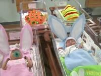 Spitalul in care, de Paste, bebelusii au