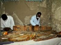 Egipt: 17 mumii din perioada greco-romana au fost descoperite in catacombe din centrul tarii