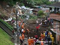 Cel putin 11 persoane au murit, iar alte 20 sunt date disparute in Columbia, in urma alunecarii de teren provocate de ploi