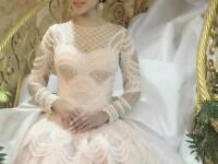 O mireasa din Indonezia a cucerit Instagramul cu rochia ei de mireasa. Imaginea a adunat aproape 200.000 de like-uri