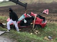 Un tanar de 21 de ani a decedat, in urma unui accident extrem de grav produs pe soseaua Hunedoara-Deva
