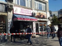 Jaf armat intr-un magazin de bijuterii din centrul Capitalei. Angajatul a fost lovit cu o arma in zona capului