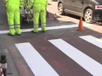 Marcajele rutiere din Romania, o afacere de miliarde. Companiile se controleaza singure daca respecta sau nu conditiile