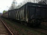 Vagoanele care au deraiat la inceputul lunii, provocand moartea a doi mecanici, au sarit din nou de pe sine