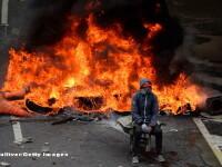 Venezuela, in flacarile protestelor. GALERIE FOTO cu cele mai puternice momente din tara cuprinsa de haos