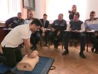 Decizie in premiera la Politia Romana. Sute de politisti din Ilfov vor fi invatati cum sa acorde primul ajutor