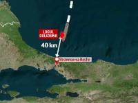 O nava rusa de spionaj s-a scufundat in Marea Neagra dupa impactul cu un cargou incarcat cu berbecuti, plecat din Romania