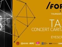 Taxi vine la Cluj pentru un concert caritabil
