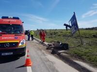 Un motociclist din Craiova a fost decapitat în urma unui accident rutier