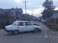 Accident într-o comună din Dâmbovița. Fetiță de 11 ani, rănită