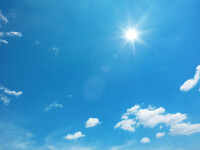 Vreme plăcută în majoritatea zonelor țării. Regiunile în care sunt așteptate ploi sporadice