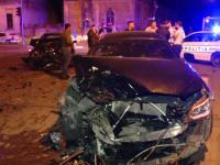 Accident grav provocat de un șofer care nu s-a asigurat. O intersecție intens circulată a fost blocată
