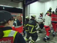 Un bărbat și-a înjunghiat mortal fosta soție și fiul, într-o stație de metrou din Germania