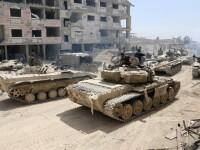 Armata rusă îi acuză pe englezi că au înscenat atacul chimic din Siria.